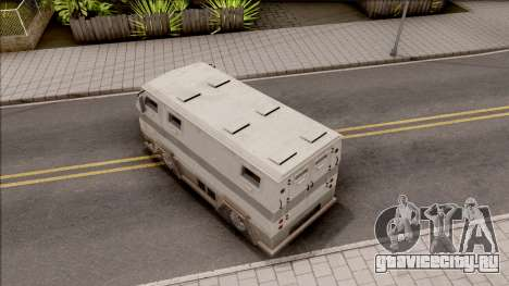 GTA EFLC HVY Brickade для GTA San Andreas вид сзади