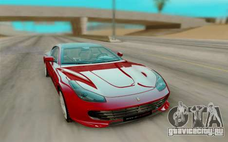 Ferrari GTC4Lusso T 2017g для GTA San Andreas