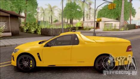 HSV Limited Edition GEN-F GTS Maloo v1 2014 для GTA San Andreas вид слева