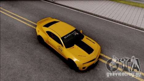 Chevrolet Camaro ZL1 Ngasal Works Kit для GTA San Andreas вид справа