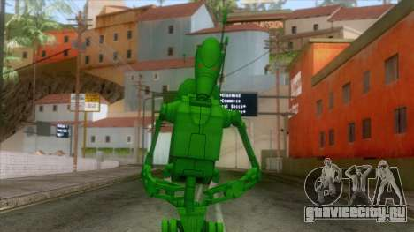 Star Wars - Toxic Droid Skin для GTA San Andreas