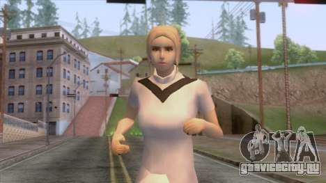 Female Sweater One Piece v5 для GTA San Andreas