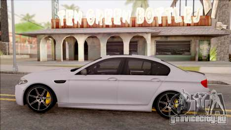 BMW M5 F10 Competition Edition для GTA San Andreas