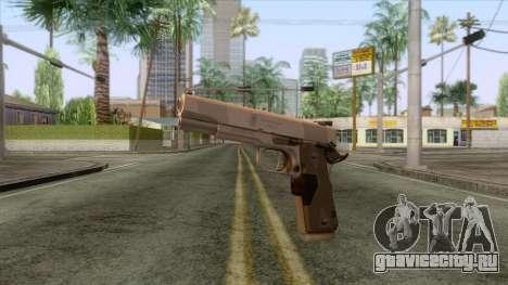 Smith & Wesson 45 ACP Revolver для GTA San Andreas