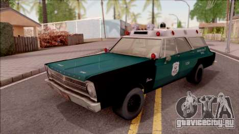Plymouth Belvedere Station Wagon 1965 NYPD Final для GTA San Andreas