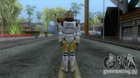 Star Wars JKA - Commander Bly Skin для GTA San Andreas третий скриншот