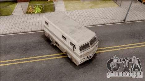 GTA EFLC HVY Brickade для GTA San Andreas вид справа