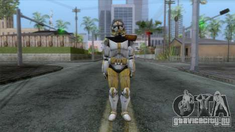Star Wars JKA - Commander Bly Skin для GTA San Andreas второй скриншот