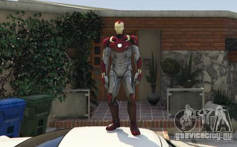 Iron Man Mark 47 1.3 для GTA 5
