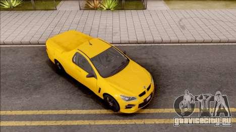 HSV Limited Edition GEN-F GTS Maloo v1 2014 для GTA San Andreas вид справа