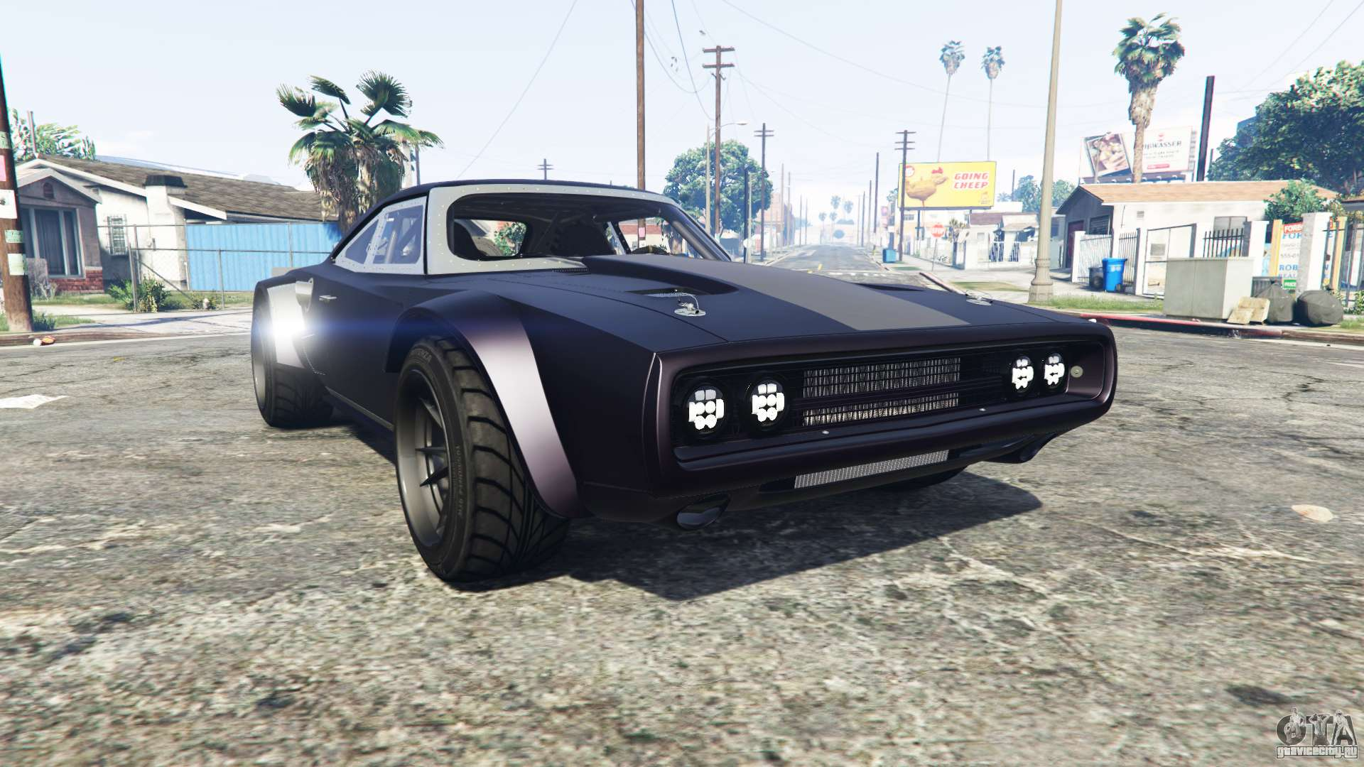 Dodge Charger Fast Furious 8 Replace GTA 5