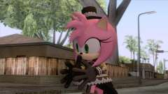 Sonic Runners - Amy Rose Gothic