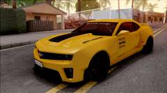 Chevrolet Camaro ZL1 Ngasal Works Kit для GTA San Andreas