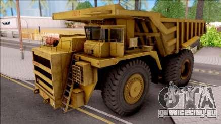 BELAZ-75214 IVF для GTA San Andreas
