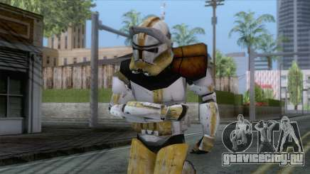 Star Wars JKA - Commander Bly Skin для GTA San Andreas