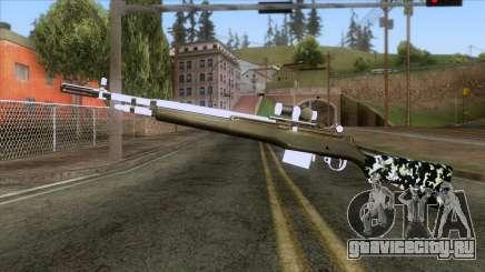 De Armas Cebras - Rifle для GTA San Andreas