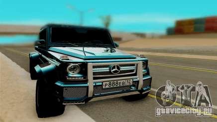 Mersedes Benz G65 6x6 для GTA San Andreas