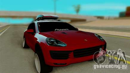 Porsche Cayenne Turbo S 2015 для GTA San Andreas