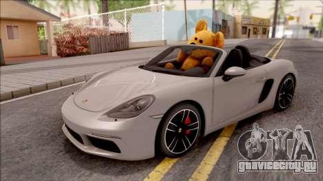 Porsche Boxter S 2017 v3 для GTA San Andreas