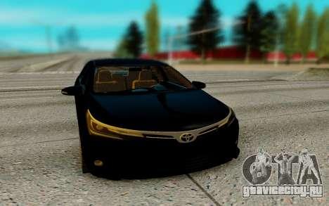 Toyota Corolla 2017 для GTA San Andreas