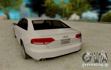 Audi A4 для GTA San Andreas вид справа