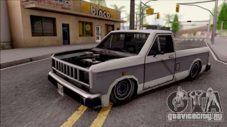 Bobcat Al Piso для GTA San Andreas