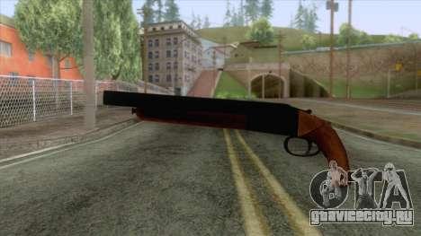 GTA 5 - Double Barrel Shotgun для GTA San Andreas