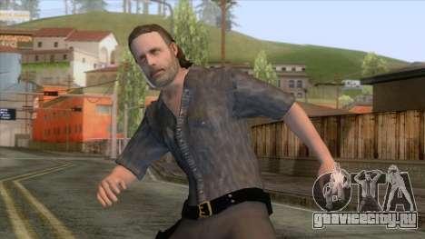 The Walking Dead - Rick Grimes для GTA San Andreas