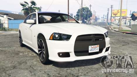 Dodge Charger SRT8 (LD) 2012 [replace] для GTA 5