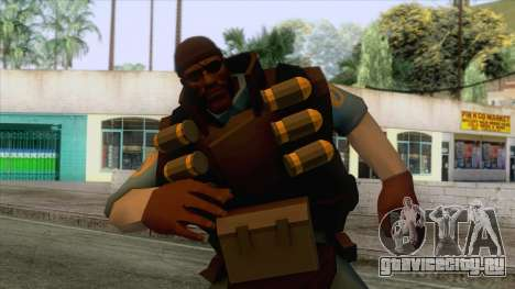 Team Fortress 2 - Demo Skin v1 для GTA San Andreas