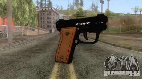GTA 5 - SNS Pistol для GTA San Andreas