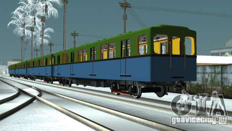 Метровагоны типа Д для GTA San Andreas