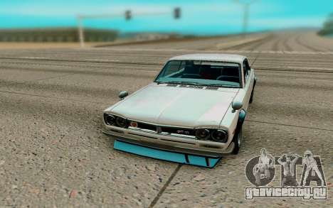 Nissan Skyline GT R Coupe 1969 для GTA San Andreas