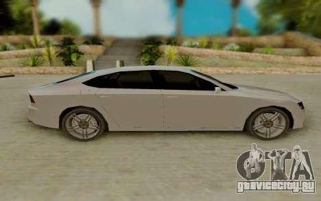 Audi A7 для GTA San Andreas вид слева