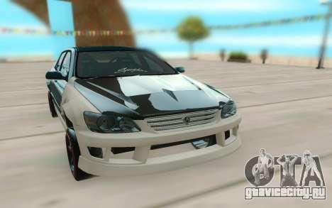 Toyota Altezza для GTA San Andreas