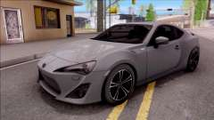 Toyota GT86 HQ для GTA San Andreas