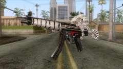 MP5 Tiger Skin для GTA San Andreas
