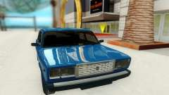 ВАЗ 2107 бирюзовый для GTA San Andreas