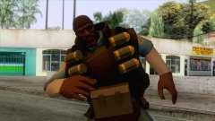 Team Fortress 2 - Demo Skin v1 для GTA San Andreas