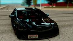 Honda Civic чёрный для GTA San Andreas