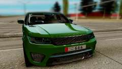Land Rover Range Rover Sport Supercharged для GTA San Andreas