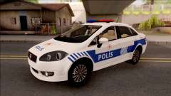 Fiat Linea Turkish Police для GTA San Andreas