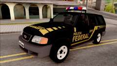 Chevrolet Blazer Federal Police of Brazil для GTA San Andreas