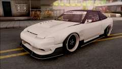Nissan 180SX Origin Labo. USA GT Racing Line для GTA San Andreas