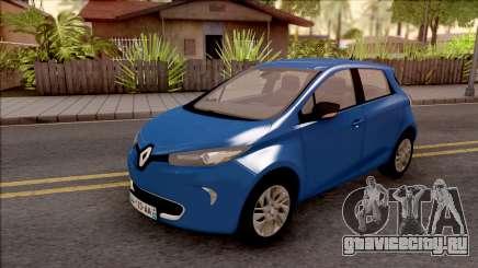 Renault Zoe 2013 для GTA San Andreas