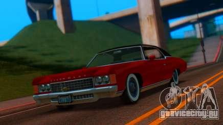 Chevrolet Impala 1971 Retextured для GTA San Andreas