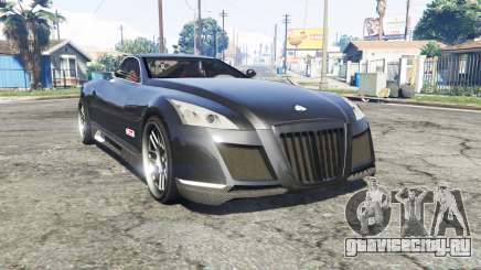 Maybach Exelero concept 2005 v0.5 [replace] для GTA 5