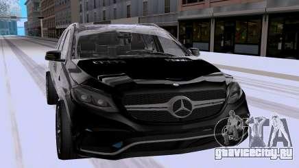 Mercedes-Benz GLE63 AMG Wagon для GTA San Andreas
