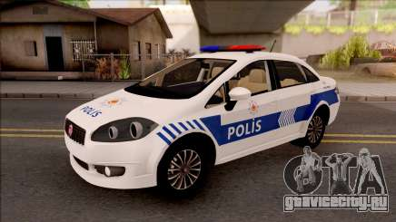 Fiat Linea Turkish Police для GTA San Andreas