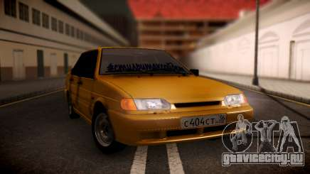 ВАЗ 2115 олива для GTA San Andreas
